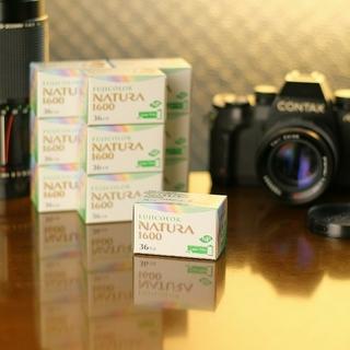 フジフイルム(富士フイルム)のNATURA 1600【10個】ナチュラ1600 富士フィルム 高感度フィルム(フィルムカメラ)