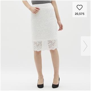 GU【新品】レーススカート