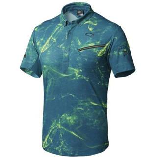 オークリー(Oakley)のXL 新品 定価14040円 オークリー スカル ポロシャツ ゴルフウェア(ウエア)