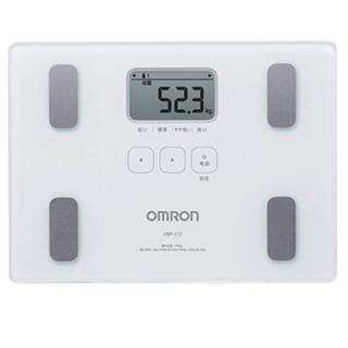 オムロン(OMRON)の★即日発送★ OMRON 体組成計 乗るだけON 100g単位で測定 正確性◎(体重計/体脂肪計)