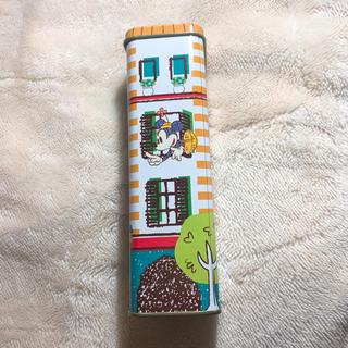 ディズニー(Disney)のディズニー オシャレミッキーの缶(小物入れ)