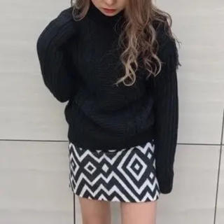 アンビー(ENVYM)のENVYM   ジオメ 台形 スカート (FREE) アンビー(ミニスカート)