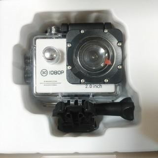 サック(SAC)のマイクロSD対応 Full HD(1080p対応) アクションカメラ 防水(ビデオカメラ)