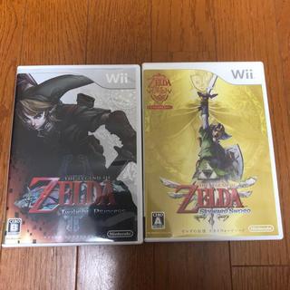 ウィー(Wii)のゼルダの伝説 トワイライトプリンセス スカイウォードソード(家庭用ゲームソフト)