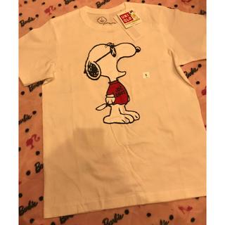 ユニクロ(UNIQLO)のスヌーピーtシャツ(Tシャツ(半袖/袖なし))