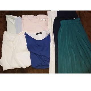 シマムラ(しまむら)の洋服レディース  8点セット売り(セット/コーデ)