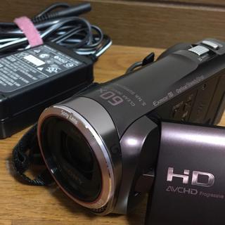 ソニー(SONY)の美品 ソニー ハンディカム  HDR-CX420(ビデオカメラ)