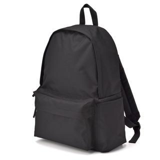 MUJI (無印良品) - 肩の負担を軽くするPCポケット付リュックサック ブラック バックパック