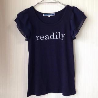 ジエンポリアム(THE EMPORIUM)のthe emporium♡袖フリルT(Tシャツ(半袖/袖なし))