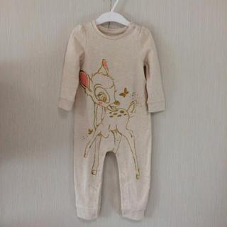 ベビーギャップ(babyGAP)のbabyGAP ディズニーコラボ バンビ ロンパース 80(ロンパース)
