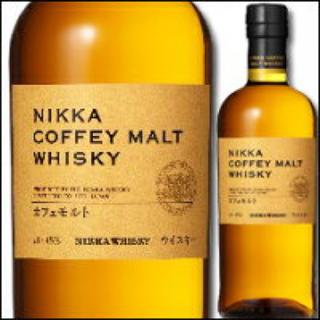 ニッカウイスキー(ニッカウヰスキー)のニッカ カフェモルト 2本セット!!(ウイスキー)