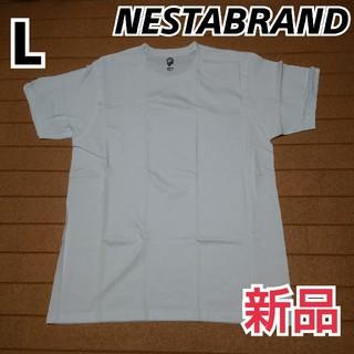 ネスタブランド(NESTA BRAND)の新品 未使用 NESTABRAND Tシャツ 無地 size L(Tシャツ/カットソー(半袖/袖なし))