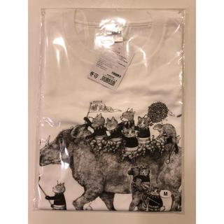 ★大哺乳類展2 ヒグチユウコTシャツMサイズ★(Tシャツ(半袖/袖なし))