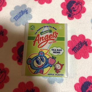 エンジェルブルー(angelblue)のエンジェルブルー ティーバッグ型 メモ帳。(ノート/メモ帳/ふせん)