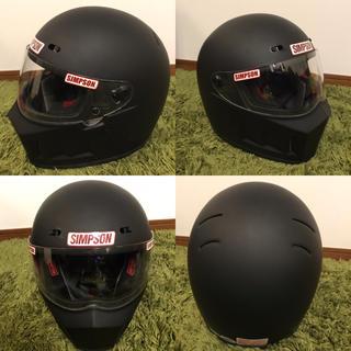 シンプソン(SIMPSON)のSIMPSON シンプソン SUPER BANDIT13 ヘルメット(ヘルメット/シールド)