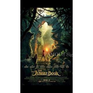 ディズニー(Disney)の映画ポスター「洋画」The Jungle Book ジャングルブック US版(ポスター)