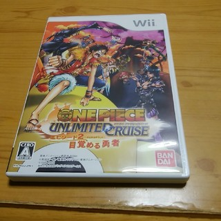 ウィー(Wii)のワンピース アンリミテッドクルーズエピソード2 wii用ソフト(家庭用ゲームソフト)