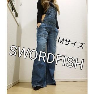 ソードフィッシュ(SWORD FISH)のソードフィッシュ サロペット M レディース 春 夏 秋 送料無料 かわいい (デニム/ジーンズ)