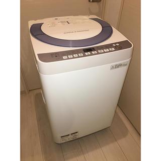 シャープ(SHARP)の送料無料!人気の7キロ SHARP  ES-T708-A  全自動洗濯機(洗濯機)