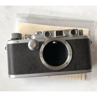 ライカ(LEICA)のバルナックライカ leica ⅲa ライカ3a オーバーホール済 即購入レンズ付(フィルムカメラ)