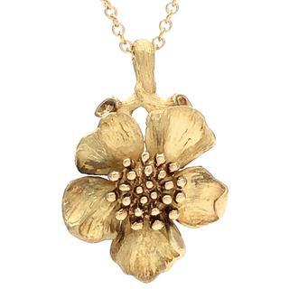 ティファニー(Tiffany & Co.)のティファニー ドッグウッド ハナミズキ フラワー ネックレス(ネックレス)