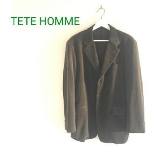 テットオム(TETE HOMME)のTETE HOMME コーデュロイジャケット(テーラードジャケット)