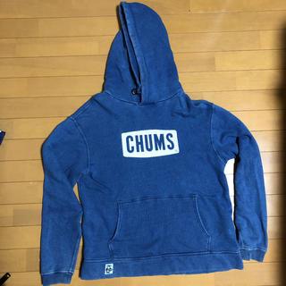 チャムス(CHUMS)のCHUMS パーカー ブルー(パーカー)