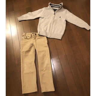 ラルフローレン(Ralph Lauren)のpoloラルフローレン  ニットとパンツのセット5T(ニット)