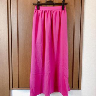 ジーユー(GU)の【新品未使用】GU♥フレアスカート(ロングスカート)
