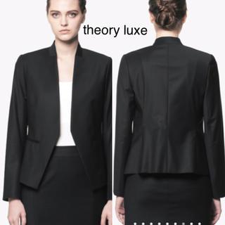 セオリーリュクス(Theory luxe)のtheory luxe Executive Donna ノーカラージャケット(ノーカラージャケット)