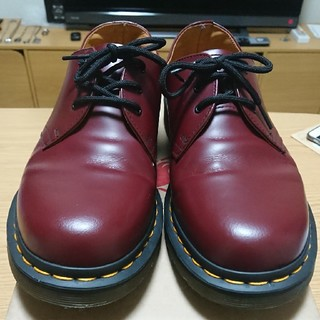 ドクターマーチン(Dr.Martens)のDr.Martens ドクターマーチン 1461 3ホール 赤 UK7(ブーツ)