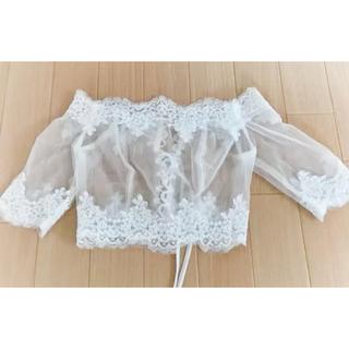 ウェディング ドレス ボレロ