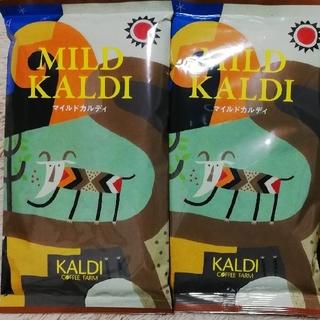 カルディ(KALDI)のコーヒー豆☆マイルドカルディ200g×2パック(コーヒー)