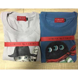 アチャチュムムチャチャ(AHCAHCUM.muchacha)のmサイズ  ヒグチユウコ circus展 Tシャツ 2枚セット(Tシャツ(半袖/袖なし))
