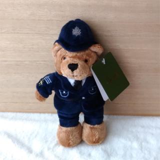 ハロッズ(Harrods)のHarrods ポリスマン Bear ぬいぐるみ S 20cm(ぬいぐるみ/人形)