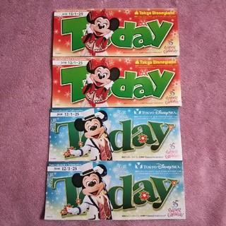ディズニー(Disney)のディズニー トゥデイ TODAY 2018年12/1~25(印刷物)