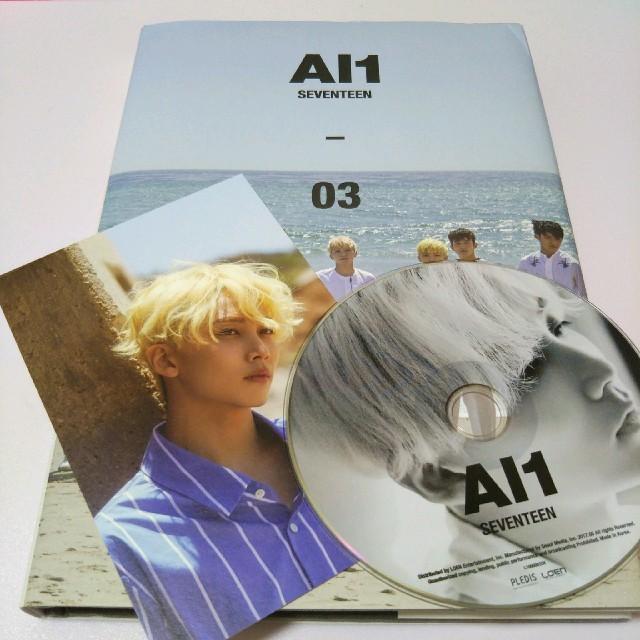 セブチ SEVENTEEN Al1 CD ポストカード ジョンハン ハニ | フリマアプリ ラクマ