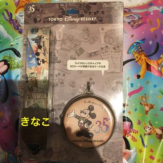 Disney - ディズニー 35周年 カメラストラップ 一眼用 ヒストリー TDL