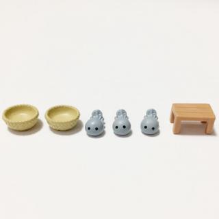 エポック(EPOCH)のミニチュアフィギュア かえる銭湯 脱衣所編(模型/プラモデル)