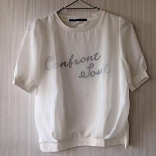ジエンポリアム(THE EMPORIUM)のtheemporium♡シフォンロゴPO(Tシャツ(半袖/袖なし))