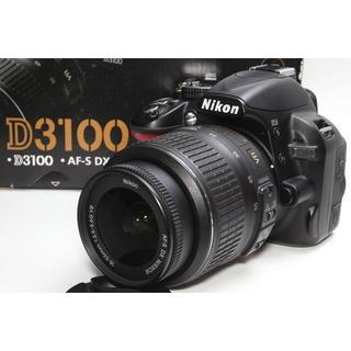 ニコン(Nikon)の❤️高画質ムービー一眼レフ❤️Nikon D3100 レンズキット(デジタル一眼)