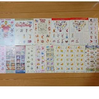 ディズニー(Disney)の切手 ディズニー セット くまのプーさん プリンセス ミッキー キャラクター (切手/官製はがき)