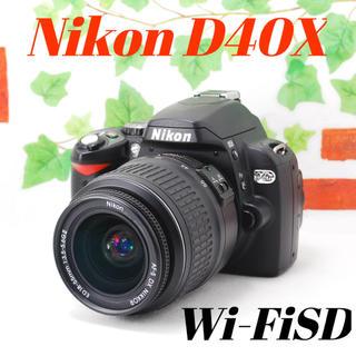 ニコン(Nikon)の❤️シャッター回数わずか1844枚❤️軽量・小型❤️Nikon D40x (デジタル一眼)