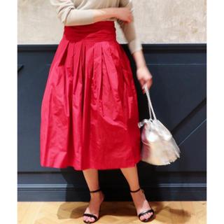 イエナ(IENA)の大人気!【IENA LA BOUCLE】18SSフレアスカート定価24,840円(ひざ丈スカート)