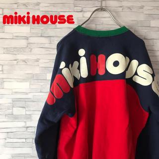 ミキハウス(mikihouse)のmiki house ミキハウス スウェット マルチカラー ビックプリント(スウェット)
