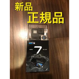 ゴープロ(GoPro)のR3 送無 [新品]GoPro HERO7 BLACK CHDHX 701 FW(ビデオカメラ)