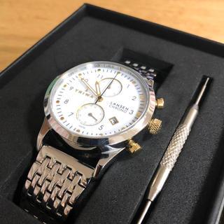 トリワ(TRIWA)のTRIWA シルバー ゴールド メンズ 腕時計(腕時計(アナログ))