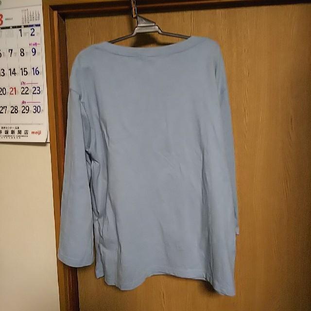 ikka(イッカ)のイッカ🎵刺繍カットソー レディースのトップス(カットソー(長袖/七分))の商品写真