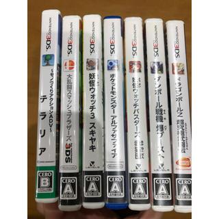 ニンテンドー3DS(ニンテンドー3DS)のDS,3DSソフト   単品購入orおまとめ購入 (家庭用ゲームソフト)