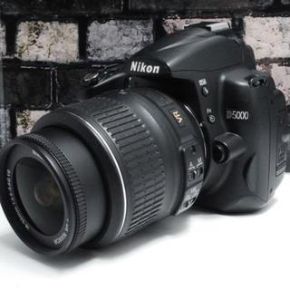 ニコン(Nikon)の★美品★Nikon D5000 レンズキット★(デジタル一眼)